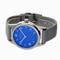 NOMOS Club Neomatik Steel 37mm Blue Arabic numerals