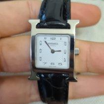 Hermès Silber 21mm Handaufzug 2866259 gebraucht Deutschland, Bühl