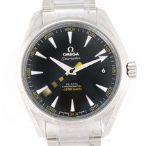 Omega 231.10.42.21.01.002 Steel 2021 Seamaster Aqua Terra 42mm new
