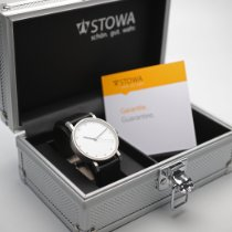 Stowa nuevo Automático Tapa transparente Segundero central Estado original/piezas originales 39mm Acero Cristal de zafiro