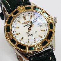 Breitling Damenuhr Lady J 31mm Quarz gebraucht Nur Uhr