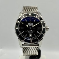 Breitling Superocean Heritage 46 Steel 46mm Black No numerals