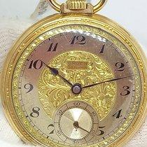 Gruen Watch pre-owned 1900 Gold/Steel 43mm Arabic numerals Manual winding Watch only