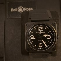 Bell & Ross Ceramic 42mm Automatic BR0392-BL-CE pre-owned UAE, Dubai