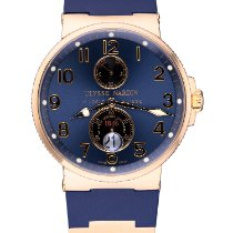 Ulysse Nardin Marine Chronometer 41mm ikinci el 41mm Mavi Takvim Kauçuk
