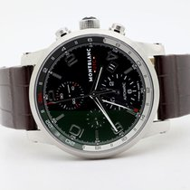 Montblanc Steel Automatic Black Arabic numerals 43mm pre-owned Timewalker
