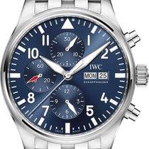 IWC Pilot Chronograph Acciaio 43mm Blu Italia, San Valentino Torio (SA)