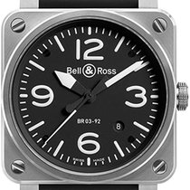 Bell & Ross BR 03-92 Steel Steel 42mm Black