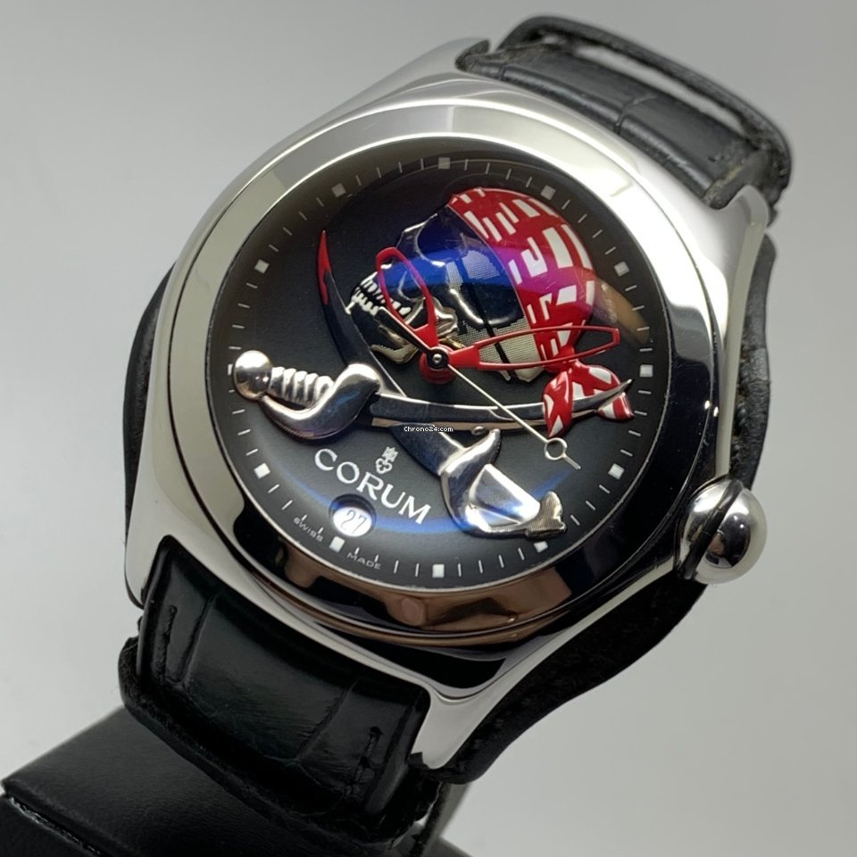 Corum Bubble Privateer Pirate 45mm Automatic Limited Edition