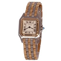 Cartier Panthère Gold/Steel 22mm White Roman numerals United States of America, Florida, Fort Lauderdale