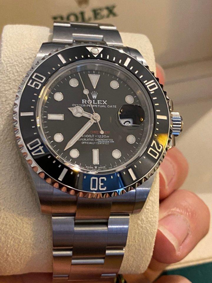 Rolex Sea-Dweller 126600 2021 nov