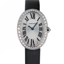 Cartier Baignoire White gold 31.6mm Silver Roman numerals United States of America, Maryland, Baltimore, MD