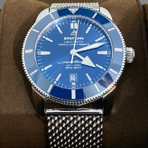 Breitling Superocean Heritage 46 Steel 46mm Blue No numerals