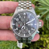 IWC Pilot Spitfire Chronograph Steel 43mm Grey Arabic numerals United States of America, California, Los Angeles