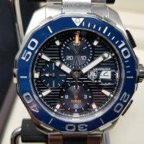 TAG Heuer Aquaracer 300M Steel 43mm Blue No numerals United States of America, Connecticut, Higganum