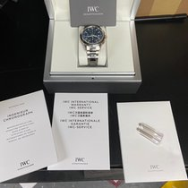 IWC Ingenieur Chronograph Steel 42.3mm Blue No numerals United States of America, New York, brooklyn