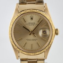 Rolex Rolex 1504 Yellow gold 1970 Oyster Perpetual Date 34mm pre-owned