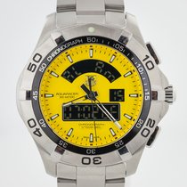 TAG Heuer Aquaracer 300M Steel 43mm Yellow No numerals United States of America, California, Pleasant Hill