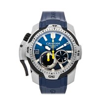 Graham pre-owned Automatic 45mm Blue 60 ATM