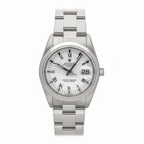 Rolex Oyster Perpetual Date Steel 34mm White Roman numerals United States of America, Pennsylvania, Bala Cynwyd