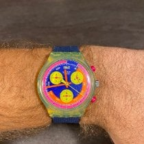 Swatch Plastic 37mm Quartz SCJ101 pre-owned United States of America, Florida, Miami Beach