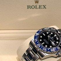 Rolex Сталь Автоподзавод Черный Без цифр 40mm подержанные GMT-Master II