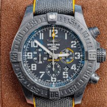 Breitling Avenger Hurricane pre-owned 50mm Black Chronograph Date Rubber