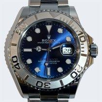 Rolex (ロレックス) プラチナ 自動巻き ブルー 文字盤無し 40mm 新品 ヨットマスター 40