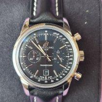 Breitling Transocean Chronograph 38 Steel 38mm Black