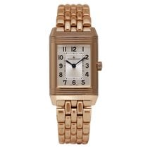 Jaeger-LeCoultre Reverso Classic Small Duetto Roségold 34.2mm Silber