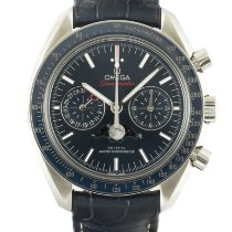 Omega Speedmaster Professional Moonwatch Moonphase Steel 44mm Blue