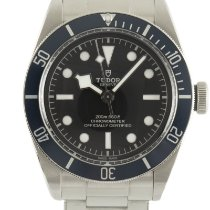 Tudor Steel Automatic Black 41mm pre-owned Black Bay