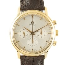 Omega De Ville Prestige Yellow gold 36mm Silver