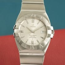 Omega Constellation Double Eagle Stål 40.5mm Silver