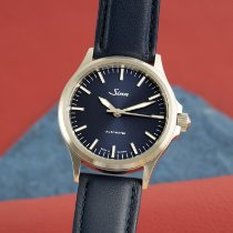 Sinn 556 pre-owned 38mm Blue Leather
