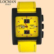 Locman Sport Quadrato Aluminum 39mm Yellow United States of America, New York, New York