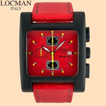 Locman Sport Quadrato Aluminum 39mm Red Arabic numerals United States of America, New York, New York