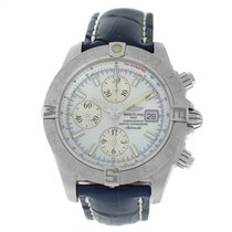 Breitling Galactic Steel 44mm Mother of pearl Arabic numerals United States of America, New York, New York