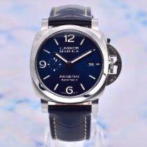 Panerai Luminor Marina Steel 44mm Blue Arabic numerals United Kingdom, Romsey