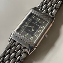 Jaeger-LeCoultre Reverso Classic Small pre-owned Black Steel