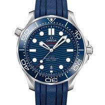 Omega Seamaster Diver 300 M Steel 42mm Blue Australia