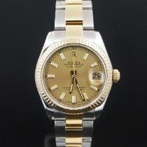 Rolex Gold/Stahl 31mm Automatik 178273 gebraucht