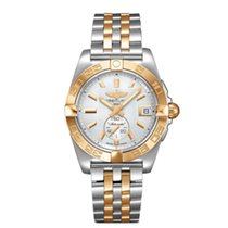 Breitling Galactic 36 Gold/Steel 36mm Mother of pearl United States of America, New York, New York