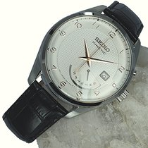Seiko Kinetic Steel 42mm White