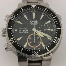 Oris Carlos Coste Limited Edition Titanium 47mm Black No numerals
