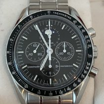 Omega Speedmaster Professional Moonwatch Moonphase Steel 42mm Black No numerals United Kingdom, London