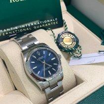 Rolex Oyster Perpetual 34 Steel 34mm Blue No numerals United Kingdom, Gateshead
