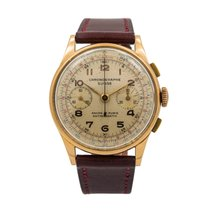 Chronographe Suisse Cie Rose gold 37.3mm Manual winding pre-owned United States of America, Florida, Hallandale Beach