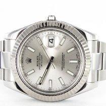 Rolex Datejust II Stahl 41mm Silber Keine Ziffern Deutschland, München