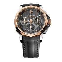 Corum Admiral's Cup AC-One pre-owned 44mm Black Chronograph Leather